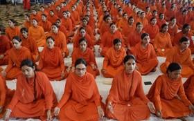 نیایش یک گروه مذهبی در هند