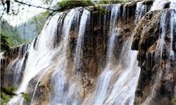تصاویری زیبا از آبشار پارک ملی سیچوآن