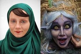 تصاویر عجیب و غریب ترین گریم های بازیگران ایرانی