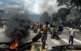 تظاهرات علیه دولت در ونزوئلا