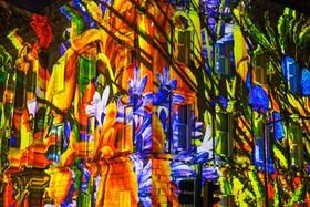 نمایش نور در جشنواره ادینبورگ در اسکاتلند
