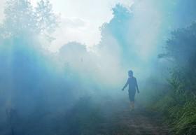 آتش سوزی در جنگل های سوماترا در اندونزی