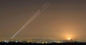 حمله ی هوایی به نوار غزه