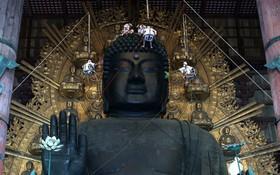 پاکسازی مجسمه بودا در ژاپن