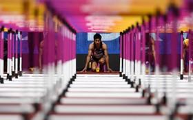مسابقات دو 110 مترمردان در انگلیس