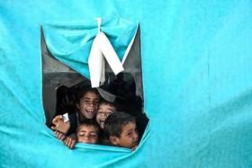 مدرسه کودکان آواره سوری