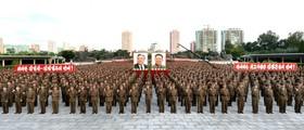 تظاهرات حمایت از دولت در کره شمالی پس از تهدید های آمریکا