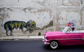 خیابانی در هاوانا در کوبا