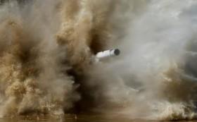 شلیک تانک تی هفتادو در مانور نظامی اطراف روسیه