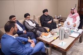 مقتدی صدر: هیچگاه علیه ایران نخواهیم بود/تمام سفرهایم با هماهنگی حیدر العبادی بود