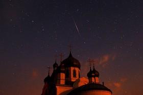 بارش ستاره ای در بلاروس