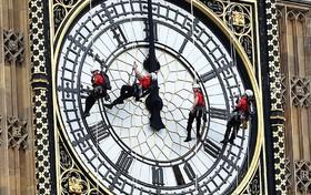 تعمیرات چهارساله برج ساعت لندن