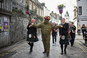 جشن محلی در اسکاتلند