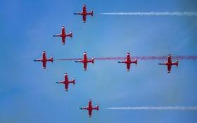 نمایش هوایی نیروی هوایی ارتش چین