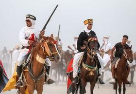 جشنواره اسب عربی در تونس