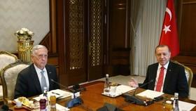 اردوغان و ماتیس