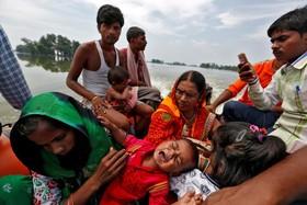 سیل زدگان در بیهار هند