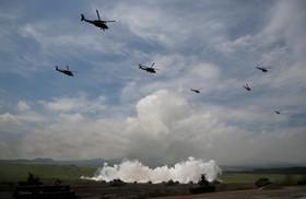 مانورنظامی نیروهای دفاع ملی ژاپن