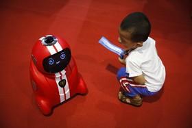 نمایشگاه و کفرانس ربات ها در پکن چین