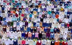 نماز عید قربان در هند