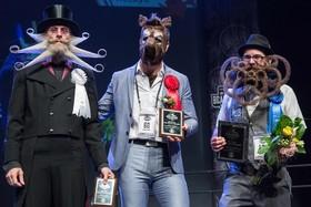 نفرات برنده در مسابقات ریش و شبیل در آمریکا