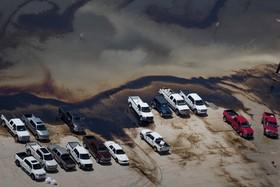 صحنه ای از خرابی های تگزاس در اثر توفان هاروی