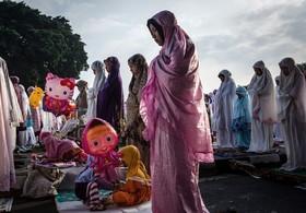 نماز عید قربان در اندونزی