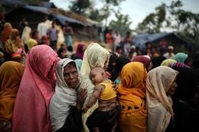 اردوگاه آوارگان روهینگای در بنگلادش