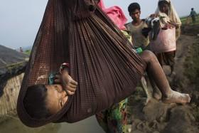آوارگان روهینگای در بنگلادش پس از فرار از میانمار