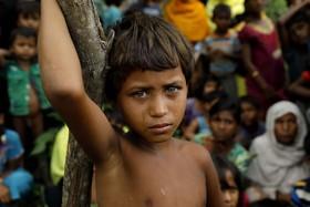 آوارگان روهینگای میانماری که به بنگلادش رسیده اند