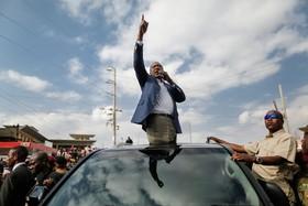 پس از باطل شدن انتخابات در کنیا اوهورو کنیاتا در حال مبارزه های انتخاباتی جدید