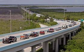 تخلیه فلوریدای آمریکا پیش از فرارسیدن توفان ایرما