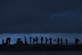 آوارگان روهینگای که از مرز بنگلادش گذشته اند