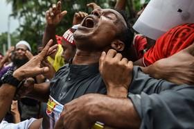 تظاهرات روهینگای ساکن مالزی در کوالالامپور