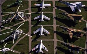 موزه هوایی در مینسک بلاروس