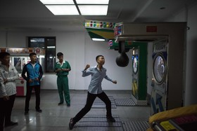 رواج بازی جدید در میان نوجوانان در پیونگ یانگ کره شمالی
