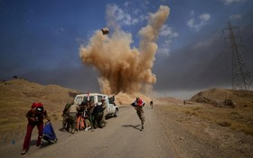 جنگ در حومه هویجه در عراق