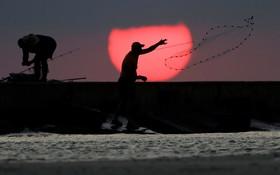 ماهیگیری در تگزاس آمریکا
