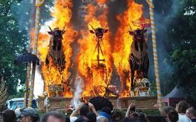 مراسم مذهبی هندوها در بالی اندونزی