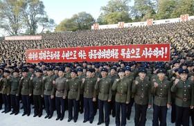 تظاهرات ضد آمریکایی در کره شمالی
