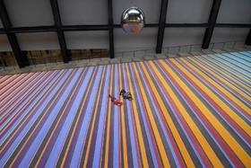 اثری هنری در موزه مدرن تیت در لندن انگلیس
