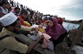 آوارگان جدید روهینگیا وارد بنگلادش می شوند