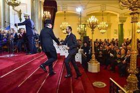 ادوراد فلیپ نخست وزیر فرانسه در مراسم سال نو یهودیان در فرانسه