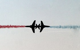 نمایش هوایی در در نمایشگاه هوایی پاکستان