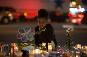 یادبود کشته شدگان در لاس وگاس آمریکا
