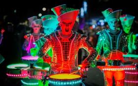 جشنواره نور و موسیقی در انگلیس