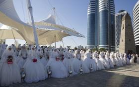 عروسی 199 زوج در یکصدو نودونهمین سال تشکیل گروزنی