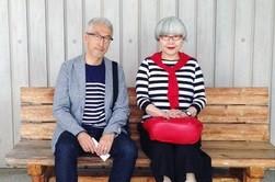 این زوج ۳۷ سال است که ست میپوشند +تصاویر