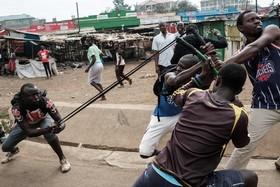 تظاهرات معترضان به انتخابات در کنیا