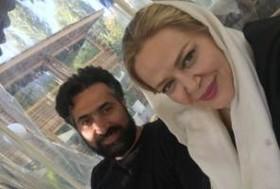 تفریح بهاره رهنما و همسرش در لواسان! عکس